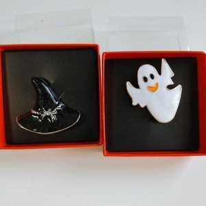 Halloween Witch Ghost Brooches Pins Decor Costume accessories